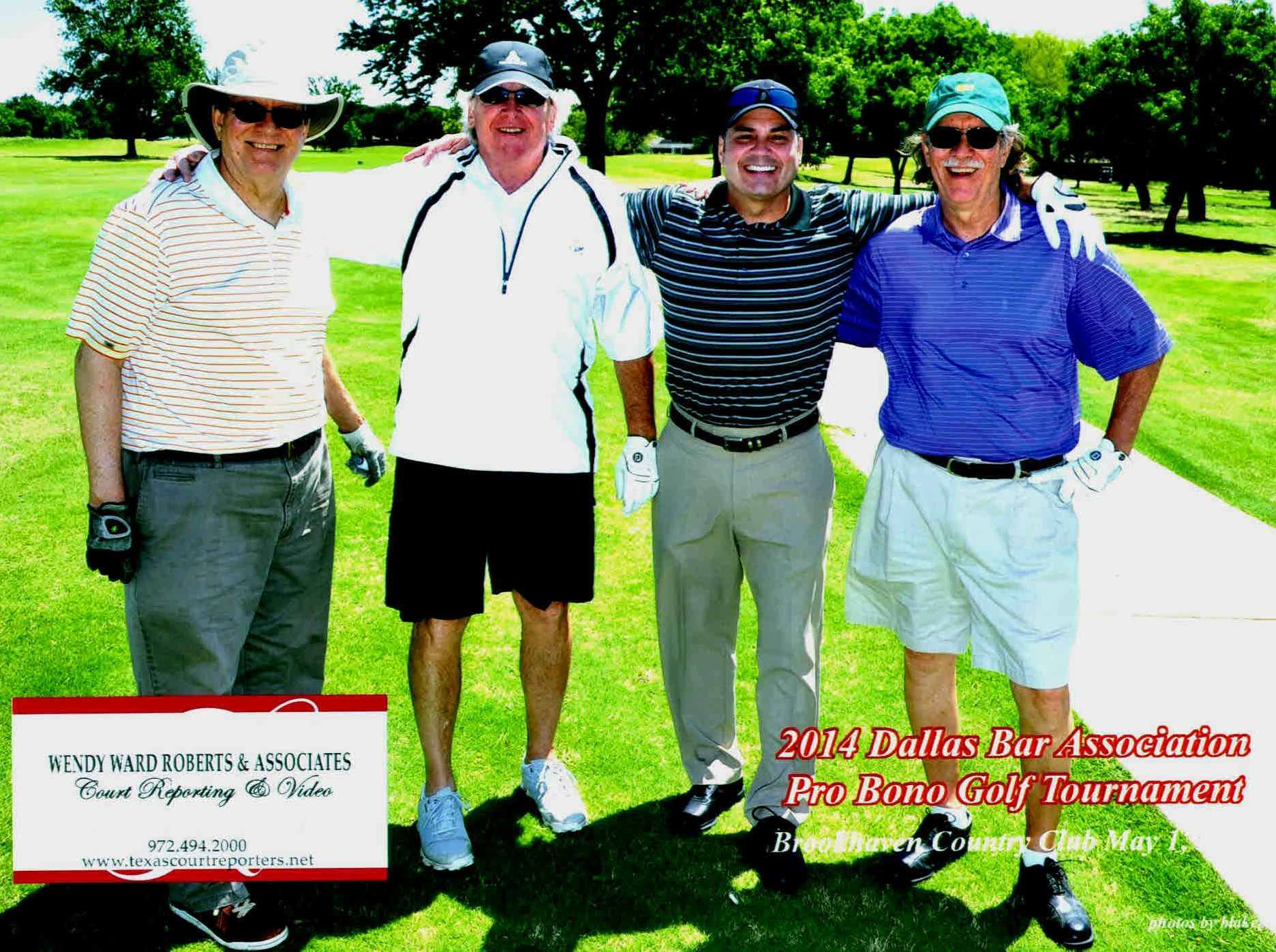 DBA Pro Bono Golf Tournament 2014